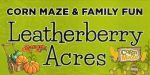 Leatherberry Acres Pumpkin Patch & Corn Maze As Presented By Meadowbrook Resort & Dells Packages In Wisconsin Dells