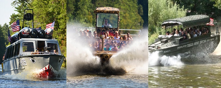 Scenic Boat Tours As Presented By Meadowbrook Resort & Dells Packages In Wisconsin Dells