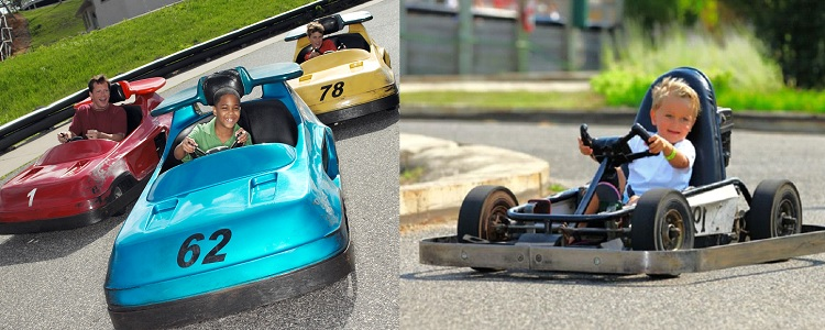 Fast Go Karts As Presented By Meadowbrook Resort & Dells Packages In Wisconsin Dells