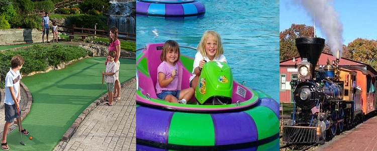 A Variety Of Kids Activities As Presented By Meadowbrook Resort & Dells Packages In Wisconsin Dells