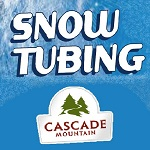 Snow Tubing At Cascade Mountain As Presented By Meadowbrook Resort & Dells Packages In Wisconsin Dells